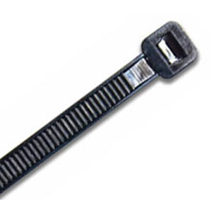 ISL 300 x 4.8mm UV Nylon Cable Tie - Black - 1000pc