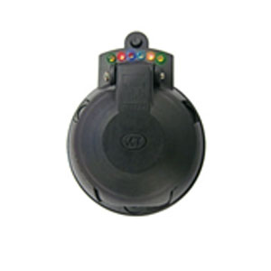 KT LED 7-PIN LARGE ROUND TRAILER SOCKET**