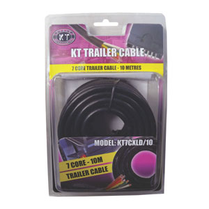 KT Trailer Cable 7 Core-7/.32 x 10m (4Amp)**