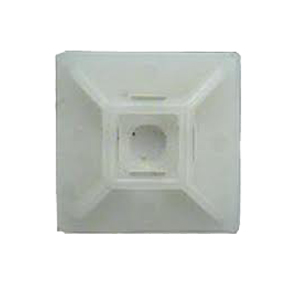 ISL 28 x 28mm Cable Tie Mounting Base - Nat - 100pc