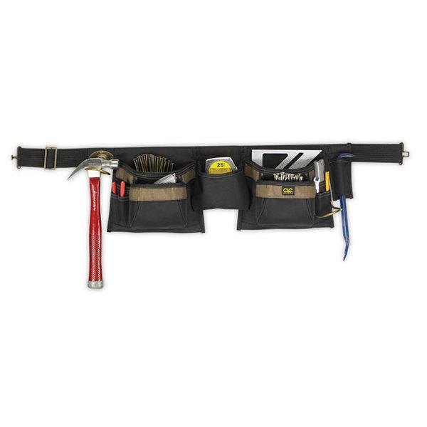 12 Pocket 600D Apron W/ Nylon Poly-Web Belt**