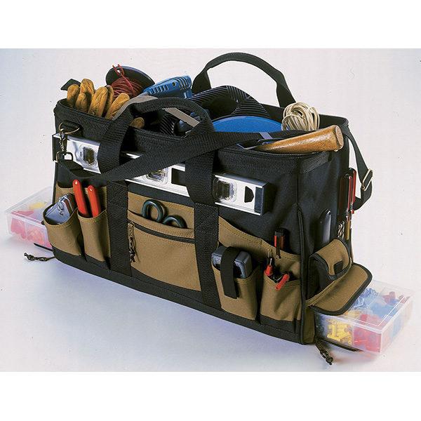 37 Pocket Electrical Double Traytote Bag**