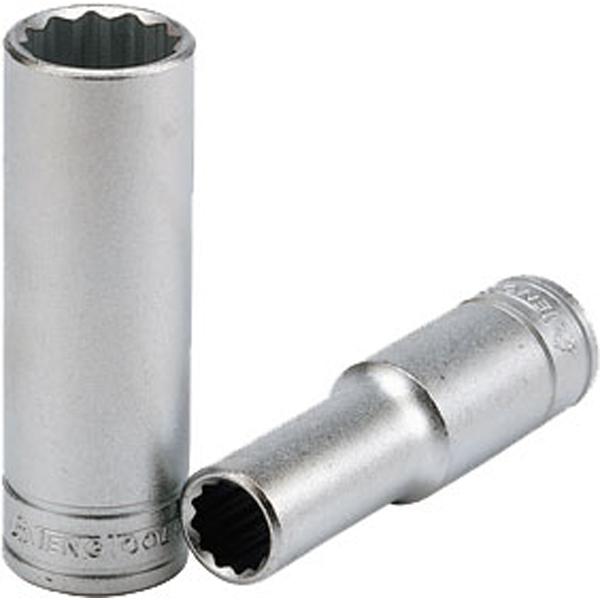 Teng 1/2in Dr. Deep Socket 24mm 12Pnt