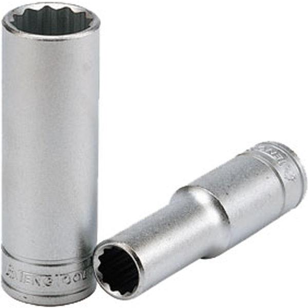 Teng 1/2in Dr. Deep Socket 17mm 12Pnt