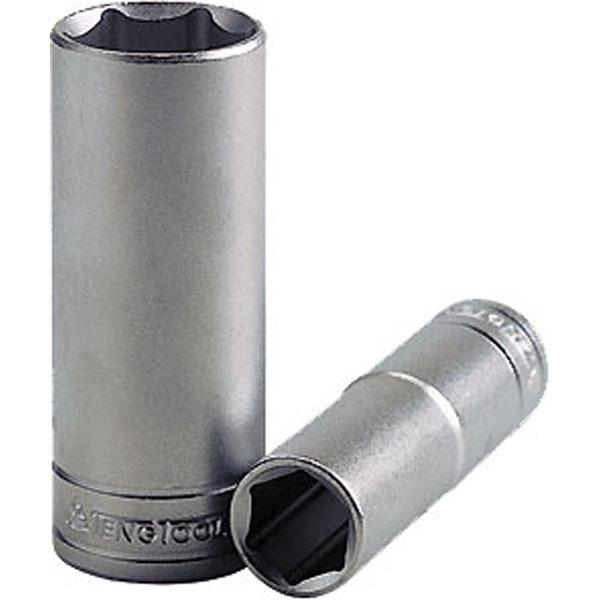 Teng 1/2in Dr. Deep Socket 17mm 6Pnt