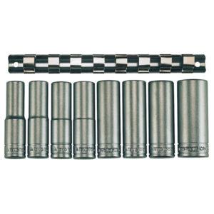Teng 9pc 1/2in Dr. Deep Socket Set 13-24mm 6Pnt