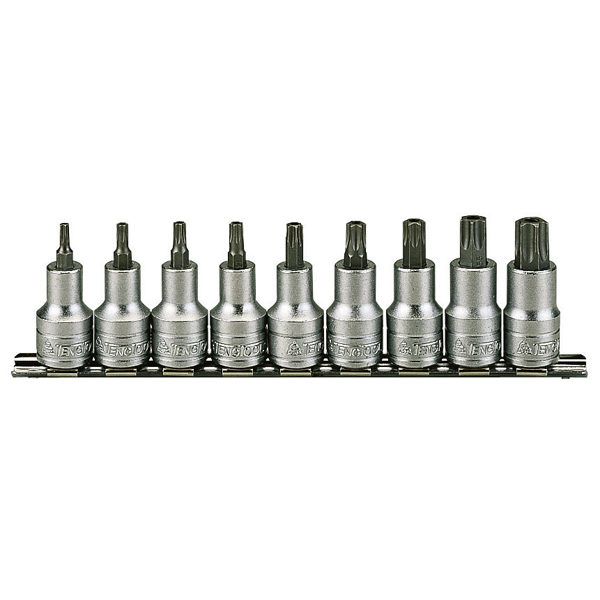 Teng 9pc 1/2in Dr. TX Bit Socket Set 20-60