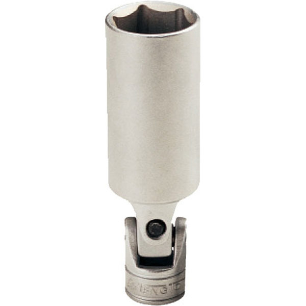 Teng 3/8in Dr. Uni-Joint Spark Plug Socket 21mm