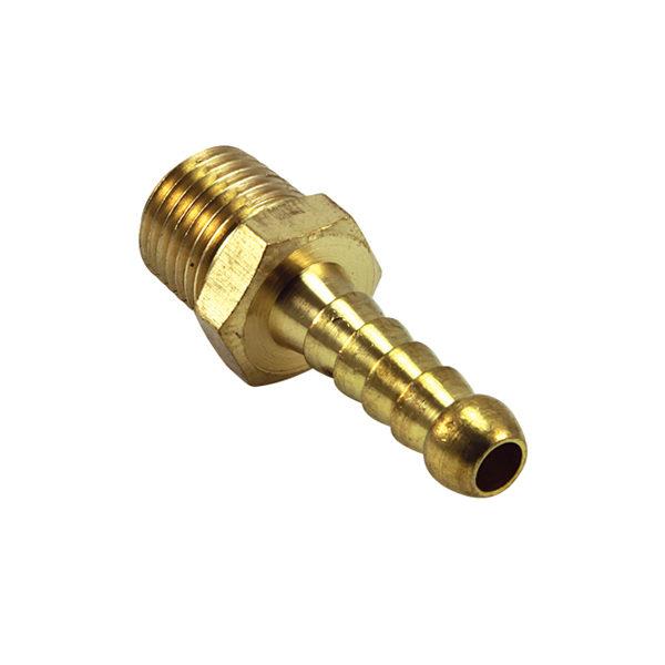 Brass 5/8in x 3/8in Male Hose Barb