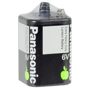 Panasonic 6V Battery Extra H/Duty - 1pc