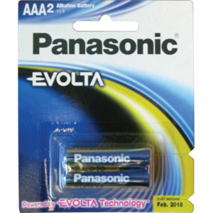 Panasonic AAA Battery Evolta Alkaline - 2pc