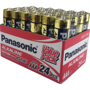 Panasonic AAA Battery Alkaline - 24pc Value Pack