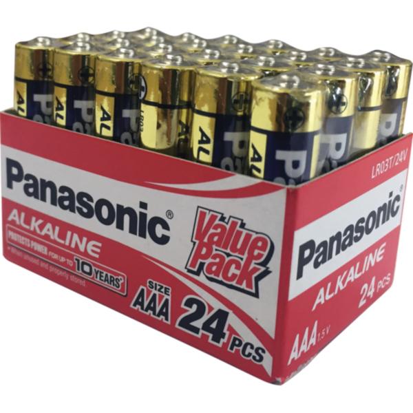 Panasonic AAA Battery Alkaline - 24pc Value Pack