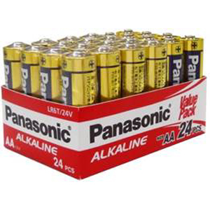Panasonic AA Battery Alkaline - 24pc