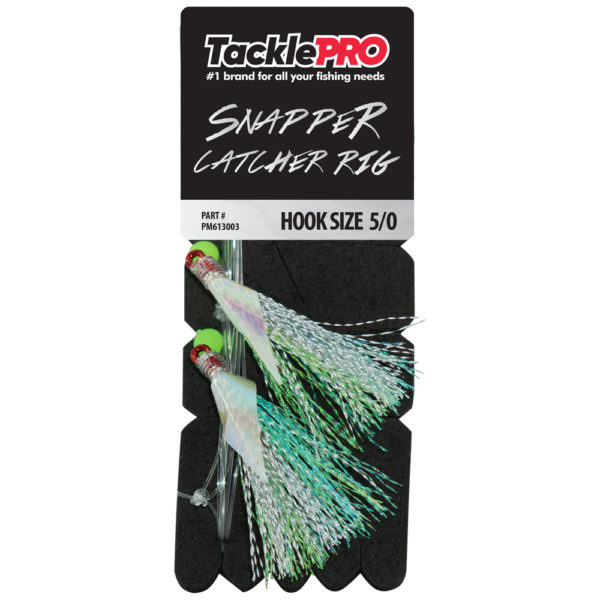 TacklePro Snapper Catcher Silver - 5/0