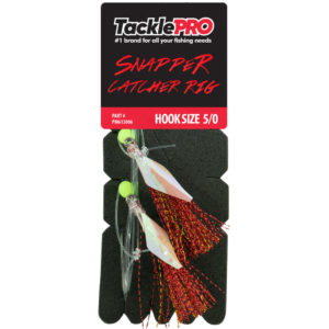 TacklePro Snapper Catcher Red - 5/0