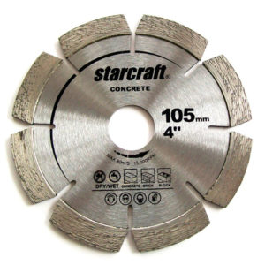 DIAMOND BLADE 105 X 2 X 10 X 20 LASER WELDED SEG