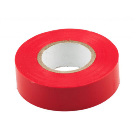 20mm X 20M PVC INSULATION TAPE RED
