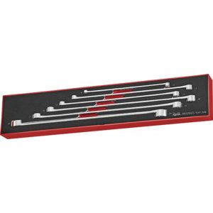 Teng 6pc Long Ring Spanner Set - TEX-Tray