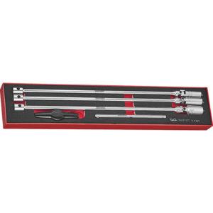 Teng 5pc T-Bar Spark Plug Socket Set -TEx-Tray