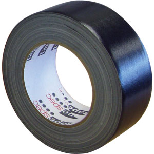 Waterproof Cloth Tape 48mm x 30m - Black