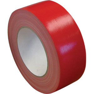 Waterproof Cloth Tape 48mm x 30m - Red