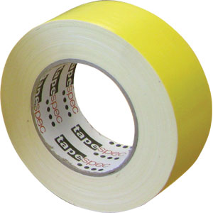 Waterproof Cloth Tape 48mm x 30m - Yellow