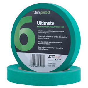 ULTIMATE EXTERIOR MASKING TAPE 18MM X 50M – 6R18