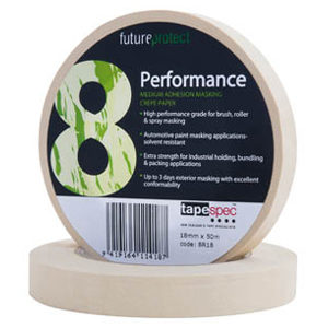 HI-PERFORMANCE CREPE MASKING TAPE 48MM X 50M -8R48