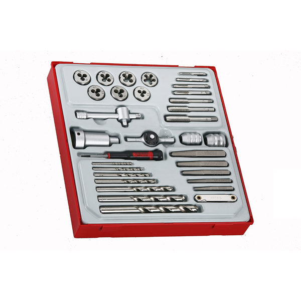 Teng 34pc Tap & Die Set w/Accessories – TTD-Tray