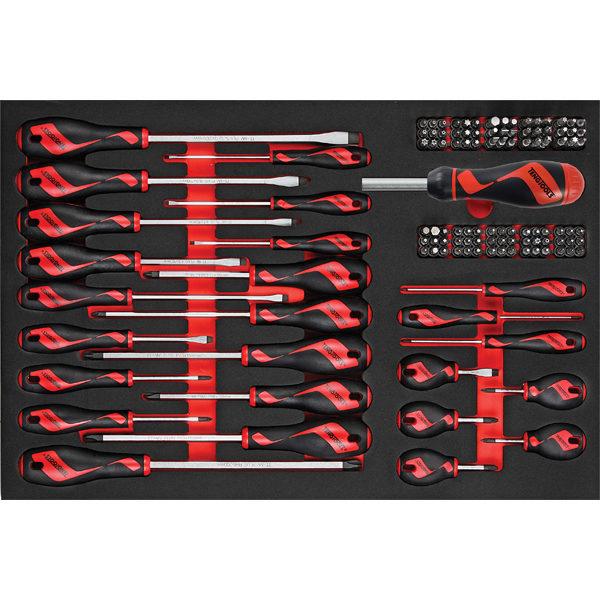 Teng 122pc MD Screwdriver & Bits Set (EVA)