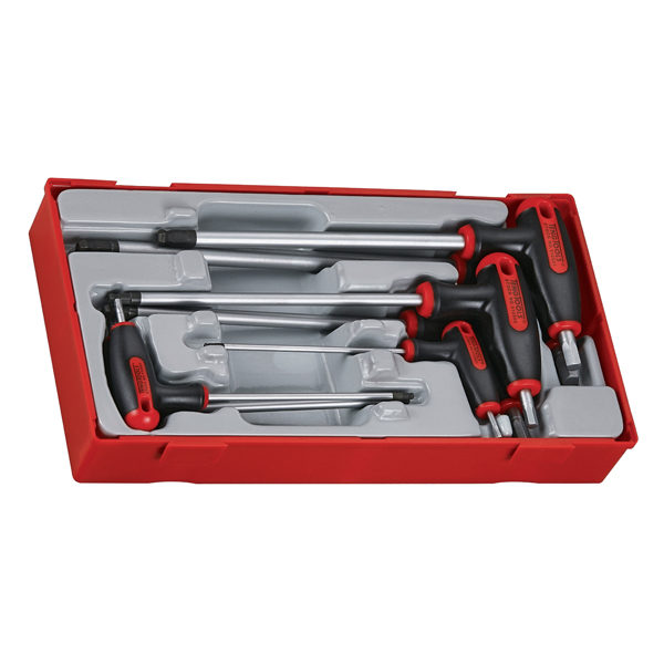 TENG 7PC T-HANDLE HEX DRIVER SET 2.5-8MM-TC-TRAY™