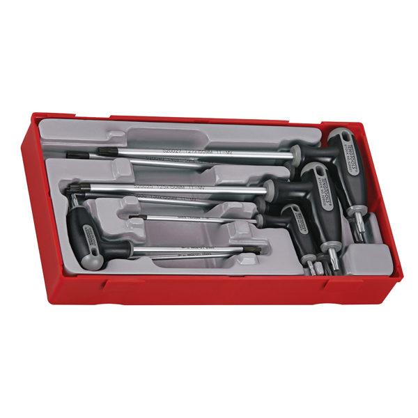 TENG 7PC T-HANDLE TORX® TP/TPX SET 10-40-TC-TRAY™