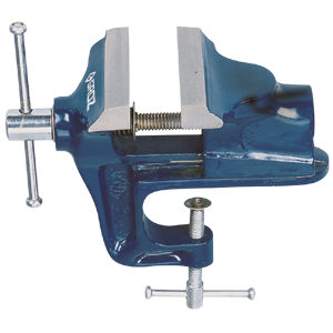 Groz 2-3/8in / 60mm Hobbyist Vice w/ Clamp