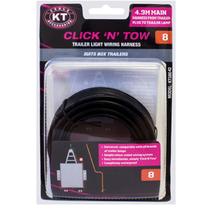 KT C'N'T 5P TO 4P MAIN WIRE HARNESS-4.9M (#8)**