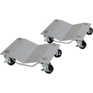 ProEquip Vehicle Wheel Dollies 680kg (1500lb) Pair