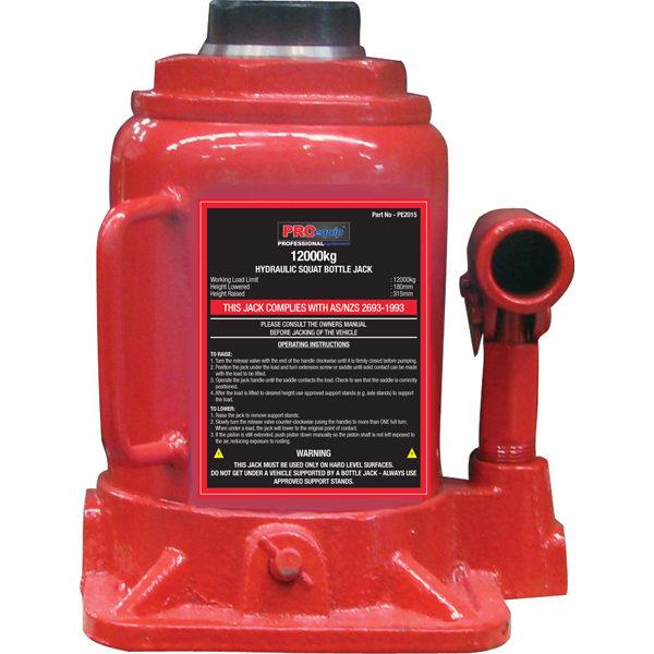 ProEquip 12000kg Squat Bottle Jack (AS/NZS)