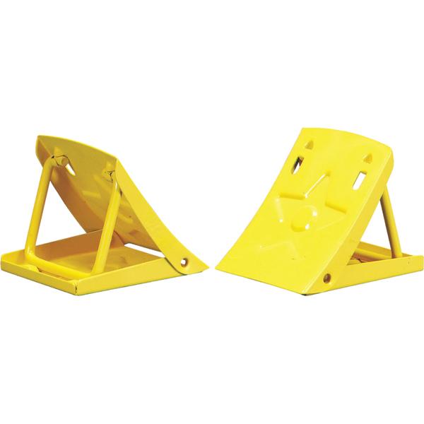ProEquip Folding Metal Wheel Chocks (Pair)